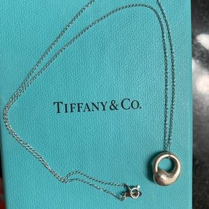 Tiffany & Co Elsa Peretti eternal circle necklace